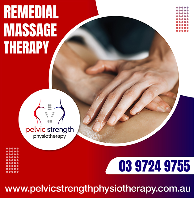 Massage – Remedial Therapy – Wantirna